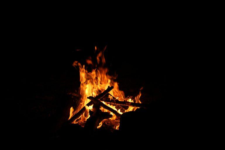 burn down