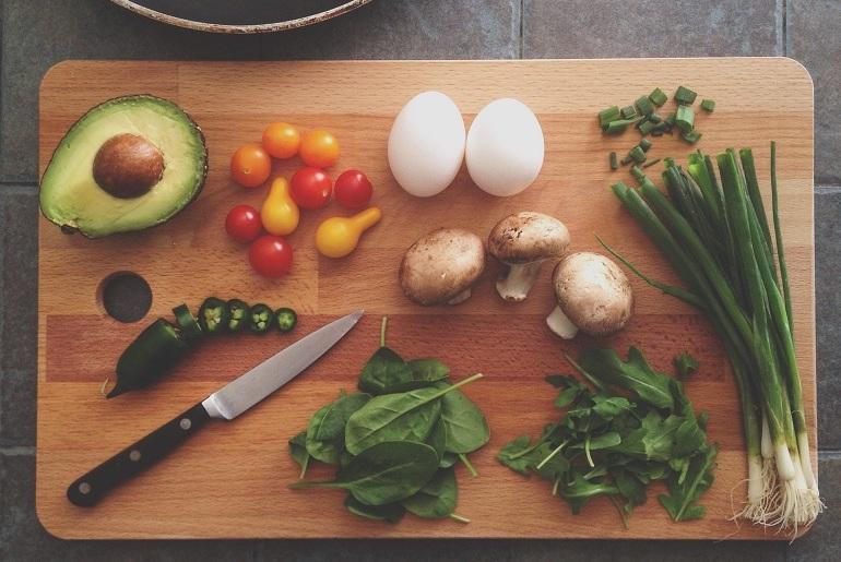 zdrowa potrawa